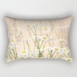 Layered Daisy Chains Rectangular Pillow