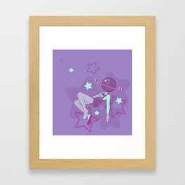 outta this world Framed Art Print