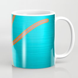 Metallic K Coffee Mug