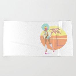 Don't trip Beach Towel