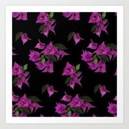 Pink bougainvillea Art Print