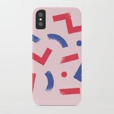 Party Colour iPhone X Slim Case