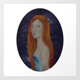 BTATO_Sad Girl Art Print