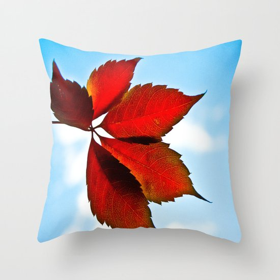 Up In The Air Throw Pillow