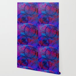 Abstract Spray Wallpaper