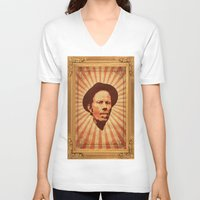 tom waits V-neck T-shirts featuring Waits by Durro