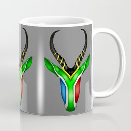 South African Springbok Coffee Mug