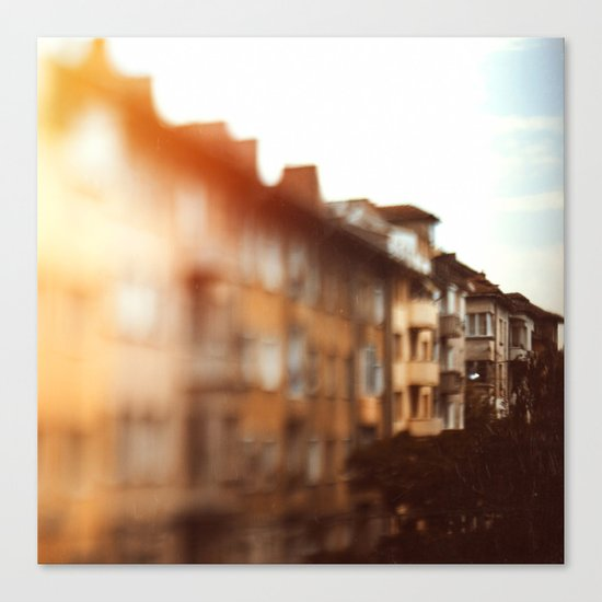 Town Moods Canvas Print