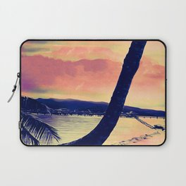 Tempest Island (Warmer Version) Laptop Sleeve