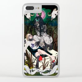 Enchantress Clear iPhone Case