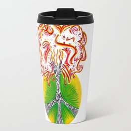 Peace Tree Travel Mug