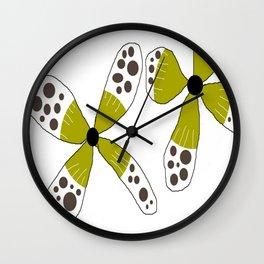FLOWERY SUSANNE / ORIGINAL DANISH DESIGN bykazandholly Wall Clock