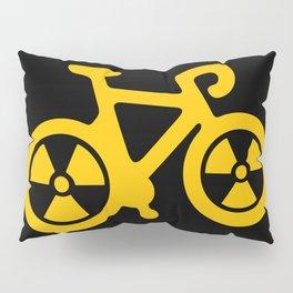 Radioactive Bicycle Pillow Sham