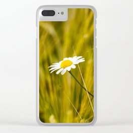 flowering plant, close-up Clear iPhone Case