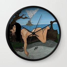 Savage Girl  Wall Clock