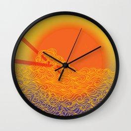 noodle doodle Wall Clock