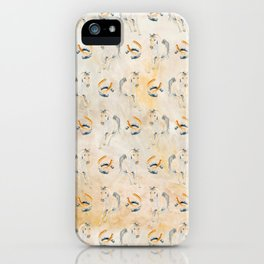 Golden Equine iPhone Case