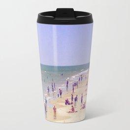 Beach Love, Beach Bliss Travel Mug