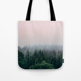 Forest in Pink Tote Bag
