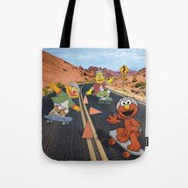 Sesame Skate Tote Bag