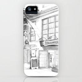 Dempsey's Pub iPhone Case