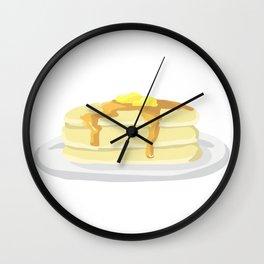 Pancake Platter Wall Clock