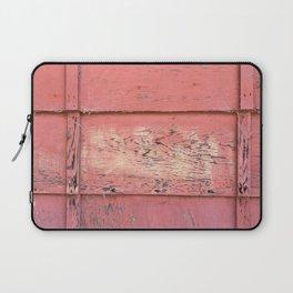 Weathered Red Siding Laptop Sleeve