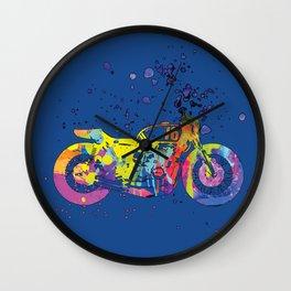 ap127-2 Motorcycle Wall Clock