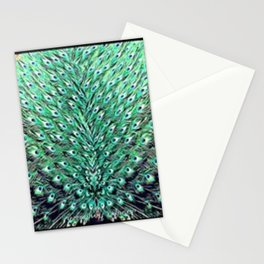 Peacock art Stationery Cards