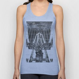 Russian aviator Unisex Tank Top