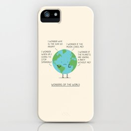 Wonders of the world iPhone Case