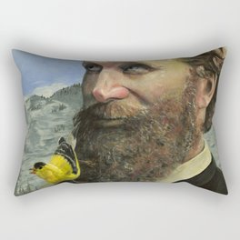John Muir Rectangular Pillow