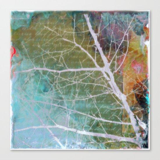 spring silk Canvas Print