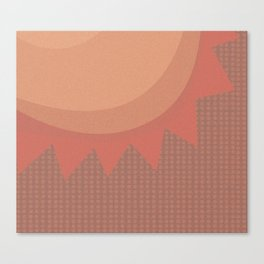 Texas Heat Canvas Print
