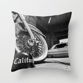 Cali Helmet Throw Pillow