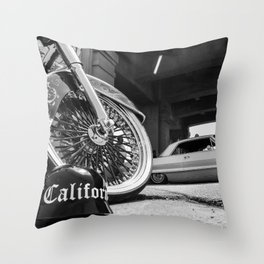 Cali Helmet Throw Pillow