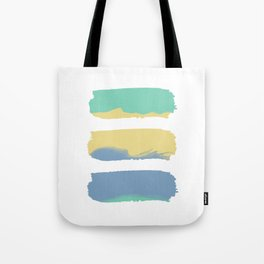 Watercolor Strokes Tote Bag