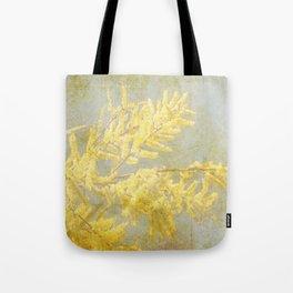 Golden Wattle Tote Bag