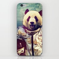 panda iPhone & iPod Skins featuring The Greatest Adventure by rubbishmonkey
