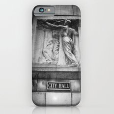 City Hall Chicago Black and White Slim Case iPhone 6s
