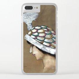Xavier Gose - Modelo de sombrero Clear iPhone Case