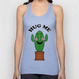 Hug Me Cactus Unisex Tank Top
