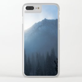 Winter Sunrise Clear iPhone Case