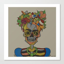 Frida Ojero Canvas Print