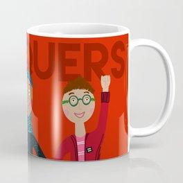 she conquers. Coffee Mug