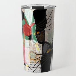 Kats Visit Museum Travel Mug