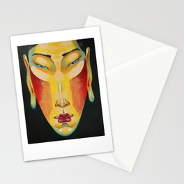 Eastern Goddess Stationery Cards