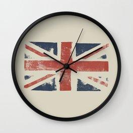Union Jack Wall Clock