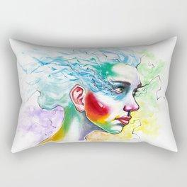 Portrait One Rectangular Pillow
