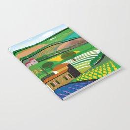 Green Fields Notebook